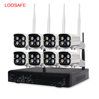 Hot 1080P HD Built In WIFI Module Double Antenna Signal Range 100 Meters Wireless CCTV Cameras