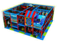 YLW IN171011 exported to Lithuania Playground Equipment CE Approved Kids Indoor Soft Naughty indoor playground park