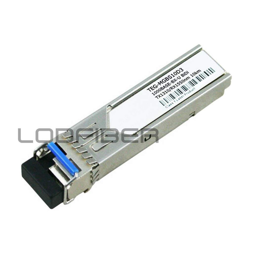 Communication Equipments Responsible Lodfiber Teg-mgbs10d3 T-r-e-n-d-n-e-t Compatible 1000base-bx Bidi Sfp 1310nm-tx/1550nm-rx 10km Dom Transceiver