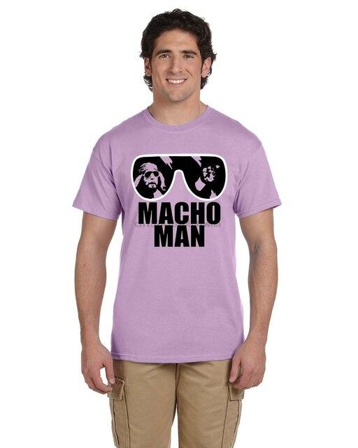 4c79333c5d5c Macho Man Randy Savage Tee Shirt Wrestling Legend Sunglasses WWF Retro S-5XL