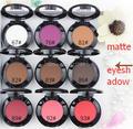 2017 Nueva llegada de maquillaje de la venta Caliente 1.8g sola sombra de ojos shdow mate sombra de ojos del pigmento 9 colores