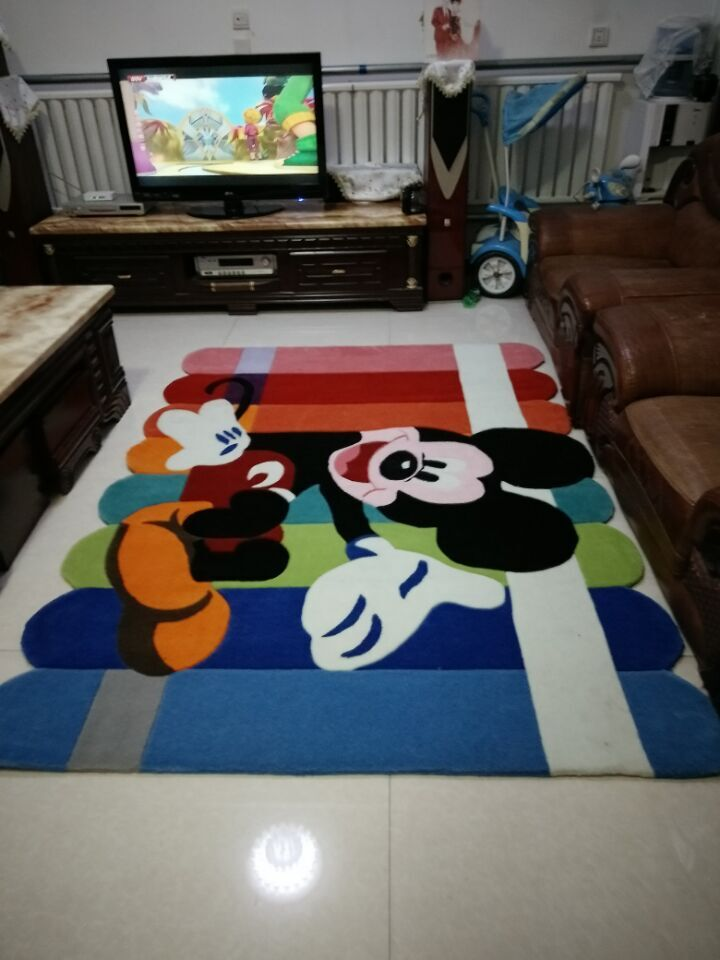 Alfombras Mickey Mouse Compra Mickey Mouse Alfombra Online Al Por Mayor De China