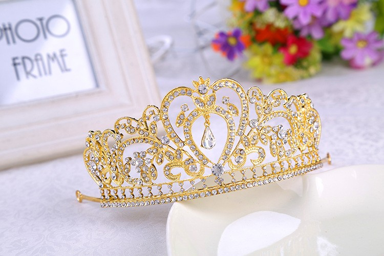 HTB1Cmj6LXXXXXcTXFXXq6xXFXXXL Glamorous Wedding Pageant Prom Rhinestone Crystal Crown For Women - 5 Colors