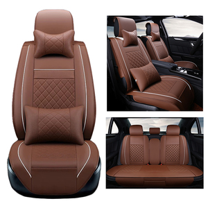 Image 2 - PU Lederen stoelhoezen Voor Volkswagen vw passat b5 b6 b7 polo 4 5 6 7 golf tiguan jetta touareg AUTO accessoires auto styling