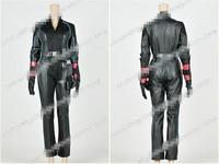 Custom Made Avengers 2 Natasha Romanoff Black Widow Jumpsuit Cosplay Costume Halloween