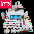 EM-111  professional uv gel nail tools ,manicure nail set , gel tool nail ,kit nail gel set ,uv gel lamp nail kit ,gel nail kit