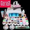EM 111 Free Shipping New Pro 36W UV GEL White Lamp 36 Color UV Gel Nail