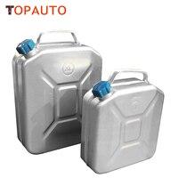 TopAuto 10L 12L 두꺼운 알루미늄 연료 탱크 오일