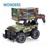 RC Jeep 1/24 Drift Tốc Độ Đài Phát Thanh SUV ngụy trang quân sự Từ Xa điều khiển Off Road xe Chỉ Đạo wheel RC Jeep xe ô tô đồ chơi