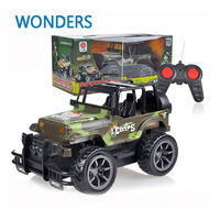 RC Jeep 1 24 Drift Speed Radio SUV Camouflage Military Remote Control Off Road Vehicle Steering