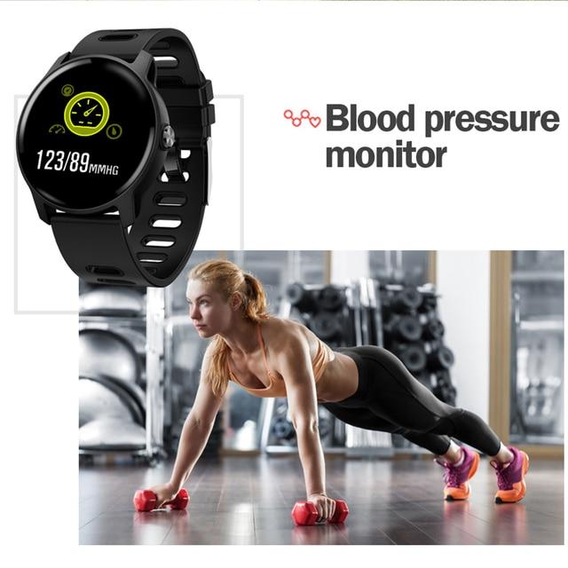 8 Sport Modes Unisex Fitness Smart Watch 3