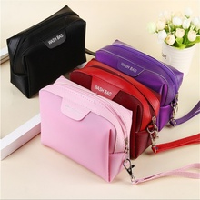 New Women Travel Cosmetic Bag Makeup Bag Handbag Female Zipper Purse Small Cosmetics Make Up Bags Travel Beauty Organizer