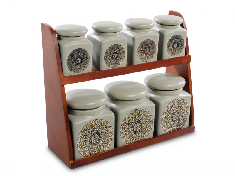 Set jars bulk Art East, 8 items bottles jars