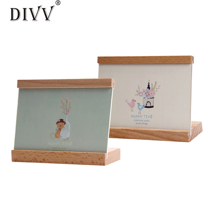 DIVV Zero Home Decor Wooden Picture Frame style Photo Frame