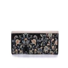 Zipper Leather Lady Wallet