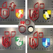 Harri Potter Deathly Hallows Series Cookie Cutters Custom Made 3D Printed Fondant Cutter Set for Cake Decorating Moulds