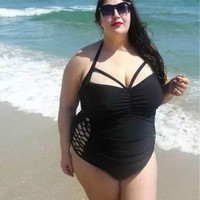 Swimwear Large Size One Piece Swimsuits Plus Size One Piece Suits Women One Piece Swimsuit Beach