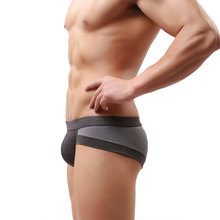 2018 Hot Selling Mens Underwear Breathable Briefs Cotton Low Waist Underpanties For Men Male Panties Ropa Interior Hombre CK03