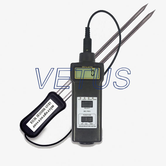 MC-7821 Digital Grain Moisture Meter Price with good quality mc 7806 digital moisture analyzer price with pin type cotton paper building tobacco moisture meter