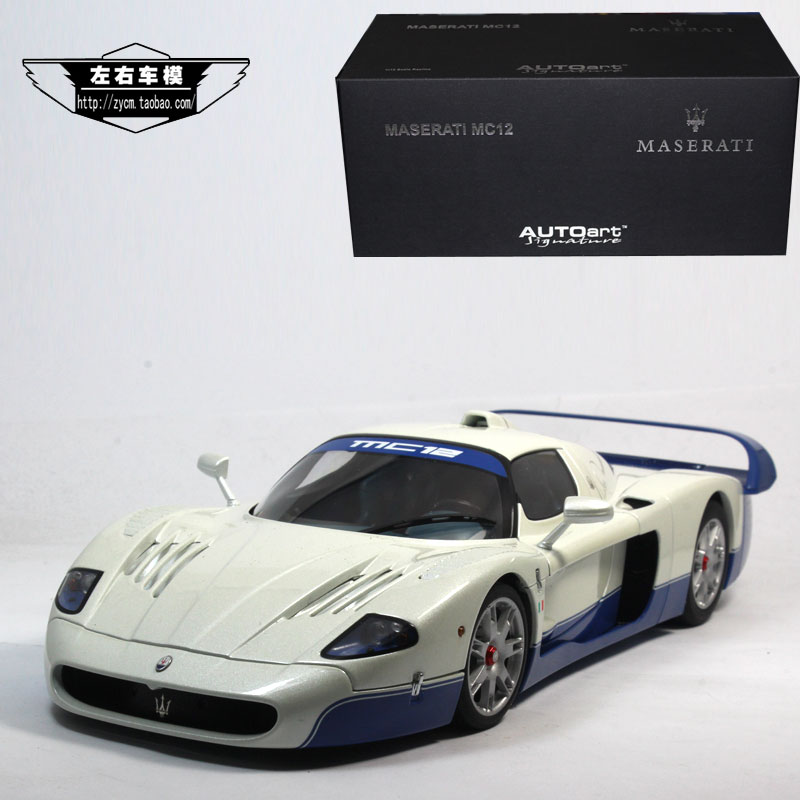 AUTOart 1/18 Scale Italy Maserati MC12 Diecast Metal Car Model Toy New In Box For Collection/Gift/Decoration brand new norev 1 18 scale germany audi a4 dtm 2011 14 9 racing car diecast metal model toy for gift kids collection