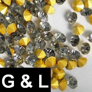 ss11.5-ss25 Black Diamond Color Pointback Design DIY Rhinestones Gems Glass Stones For Jewelry 3D Nail Art Glitter Decoration погремушки yookidoo петушок