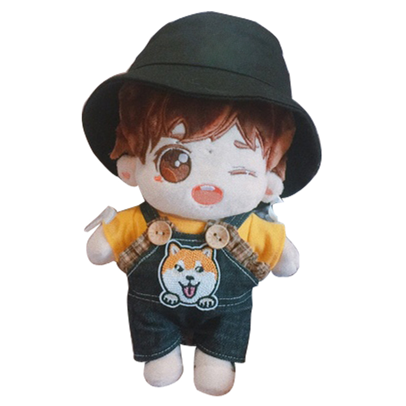 New Arrival 20-25cm Doll Fisher Hat The 3rd Generation Got7 Exo Doll Hat Plush Stuff Doll Hat