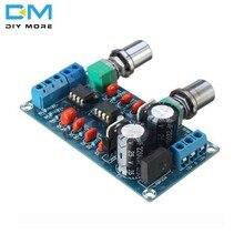 Circuito do processo do subwoofer da placa ne5532 do filtro da passagem baixa para o dobro duplo 9v da c.a. do módulo da placa do amplificador-15v