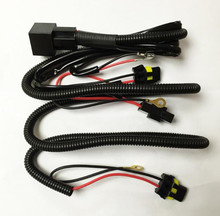 Xenon HID Conversion Kit Relay Wiring Harness H1 H8 H11 HB4 9005 9006 9140 9145