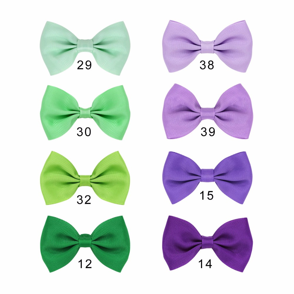 8pcs/set Girls Hair Bows Kits Handmade Hairclips Hair Ties Hairgrips Kids' Barrettes Boutique Hairbands Hair Accessories hot 6 colors 1pc girls lovely cat ear hairpin cute barrettes hairclips headwear hair accessories