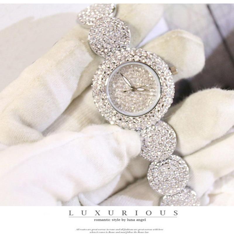 Women Watches Luxury Diamond Montre Famous Elegant Bracelet