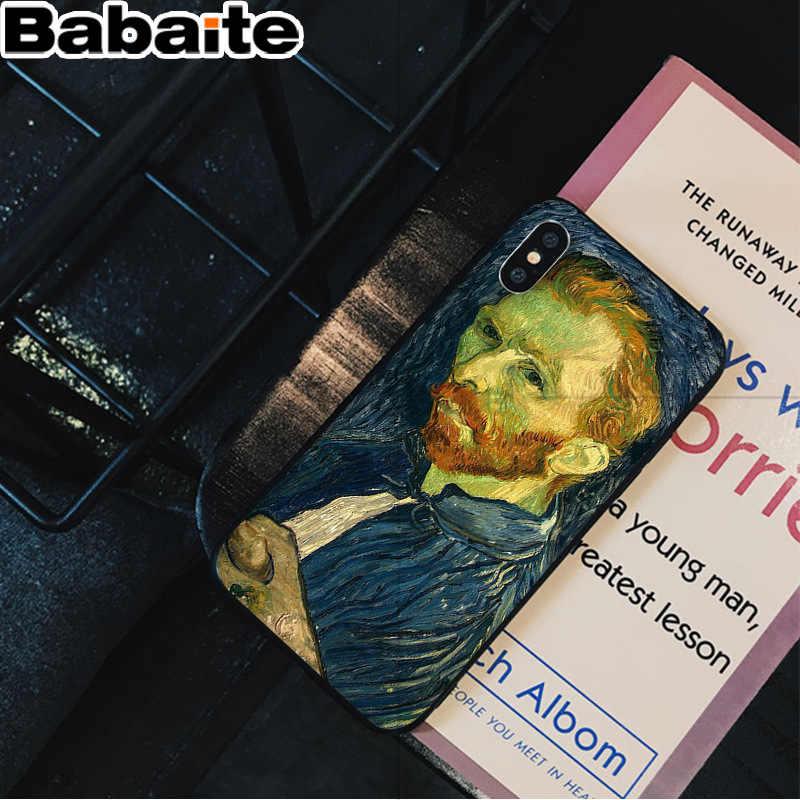 Babaite Van Gogh масляной живописи клиента высокого качества чехол для телефона iPhone 5 5Sx 6 7 7 plus 8 8 Plus X XS MAX XR