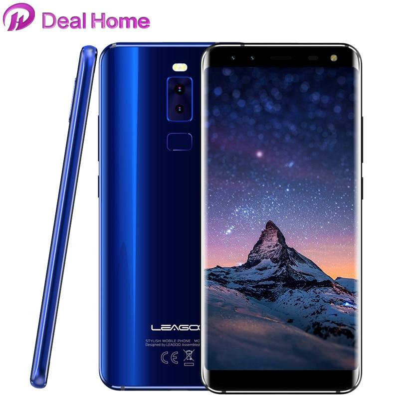 Original LEAGOO S8 18:9 Display MTK6750T Octa Core HD+ 1440*720 Screen 3GB RAM 32GB 13MP 4 Cameras Fingerprint 4G Cell Phone
