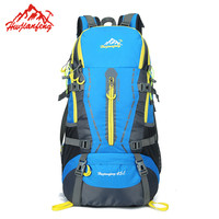 SupWeknd 45L Water Proof Outdoor Backpack Durable Women/men Outdoor Sports Bag Rucksack for Travel Camping Hiking Mountaineering