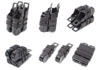 Mag Pistol 2 + 1 MAG Two Small Pouch And One 5.56 Mag Pouch M4 Tactical Magazine Pouch Black Bags