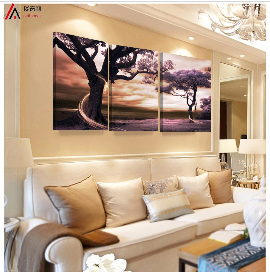 Large Painting For Living Room Online Get Cheap Large Landscape Paintings Aliexpresscom