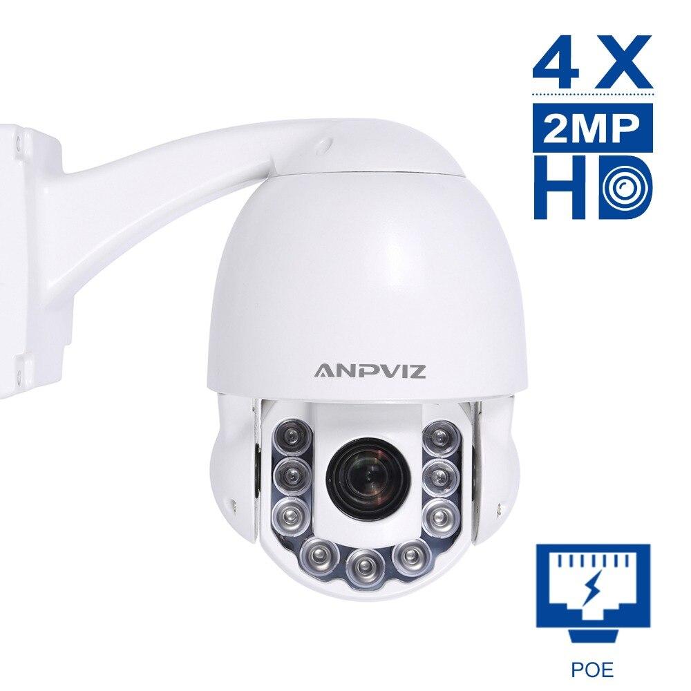 Wireless Dome POE PTZ IP Camera 2MP/5MP 4X HD Zooming videcam WIFI surveillance Webcam Outdoor alarm system CCTV Webcam Onvif