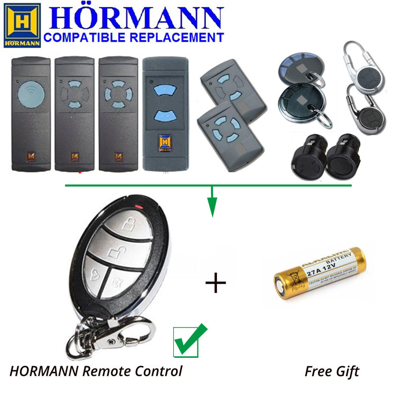 HORMANN HSP4 Hand Transmitter Replacement Garage Door Remote Control 868.3MHz new product boss replacement remote 303mhz boss transmitter boss garage door remote control
