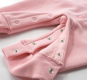 Image 5 - 2020 New Baby Autumn Winter Clothes Children Velvet Climbing Romoers Newborm Baby Boy Girls Long Sleeve Hoodie Jumpsuit Clothing