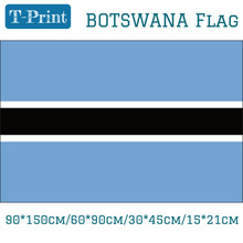Free shipping 90*150cm/60*90cm/30*45cm/15*21cm Botswana National Flag For World Cup / Day Olympic Games