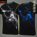 Light!Game LOL The Unforgive/Thresh Unisex cosplay t-shirt summer top tshirt in stock free shipping 2016