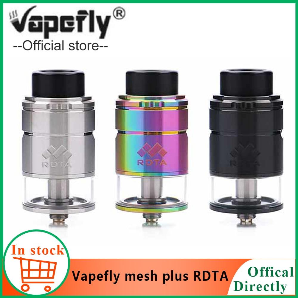 Original Vapefly Mesh Plus RDTA PK Digiflavor Mesh Pro Tank Electronic Cigarette Atomizer For Vape Box Mod