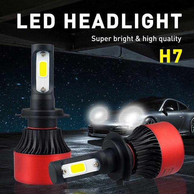 no error h7 car led headlights for mercedes benz w203 w204. Black Bedroom Furniture Sets. Home Design Ideas