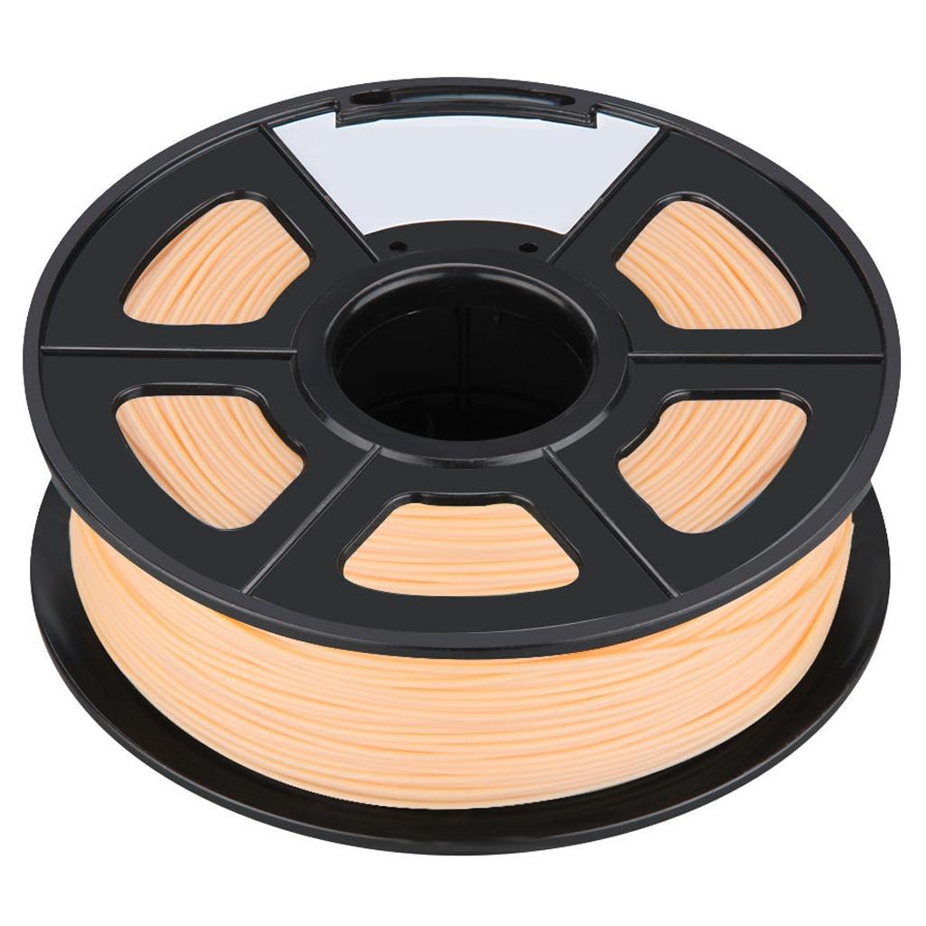 New 3D Printer Printing Filament ABS -1.75mm ,1KG, for Print RepRap Color: complexion 3d printer filament 1 75mm 3mm abs conductive color change pa nylon flexible 1kg 2 2lb for reprap markerbot