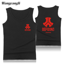 Defqon.1 regatas masculino Men/Women Fitness Tank Tops tank top men Bodybuilding Shirt Clothes For Summer body engineers