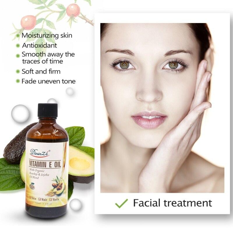 Pure Natural Massage Spa Avocado Vitamin E Essential Oil Cold Pressed Moisturiser Castor Oil Hydrating Hair Care new 3