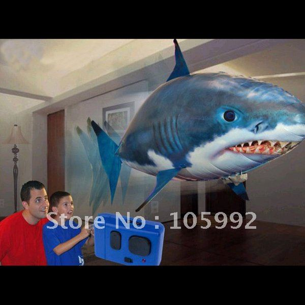Buy wholesale air flying fish shaped for Flying fish balloon