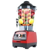 220V 6L Multifunctional Electric Juicer Commercial Electric Soybean Milk Blender With Water Tap Fruit Juicer For Shop