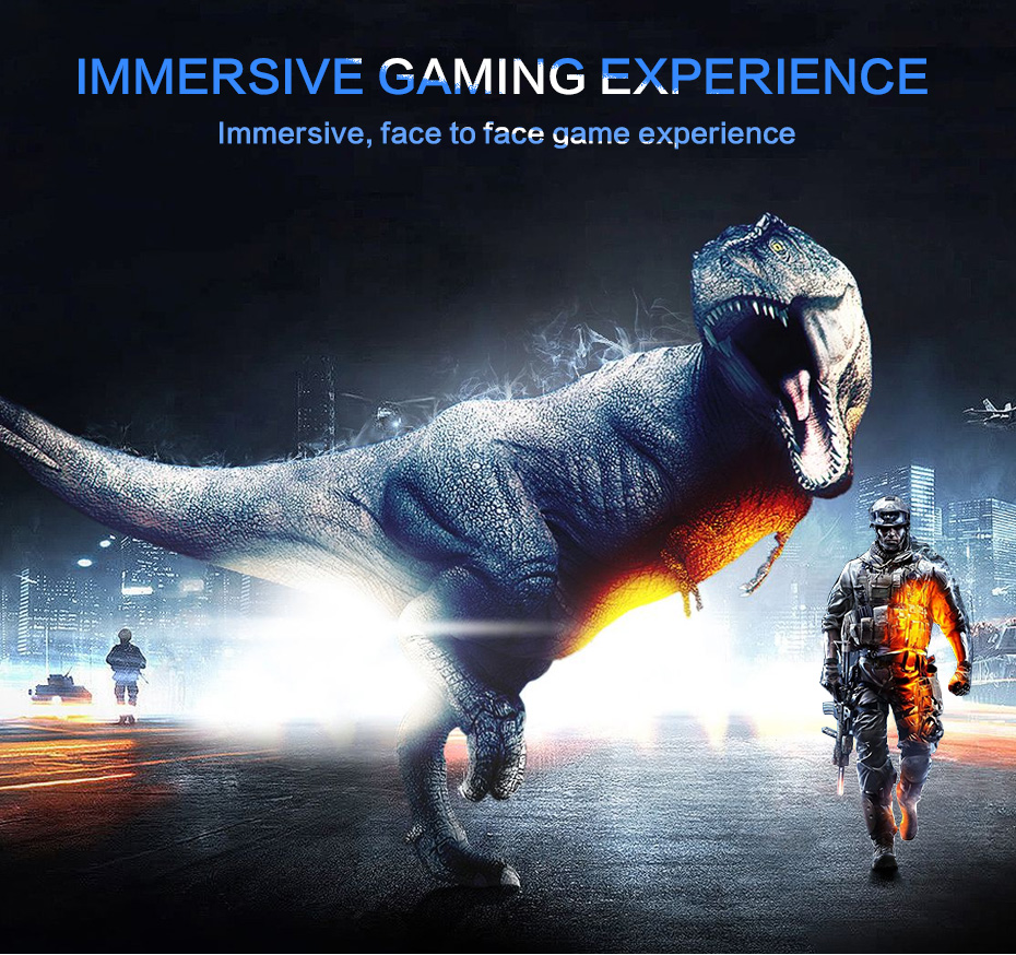 US $275 38 50% OFF|2K VR Virtual PC Glasses Virtual Reality Glasses VR  Headset all in one Resolution 2560*1440 Android 6 0 RK3399 2GB/16GB 3D  HDMI-in
