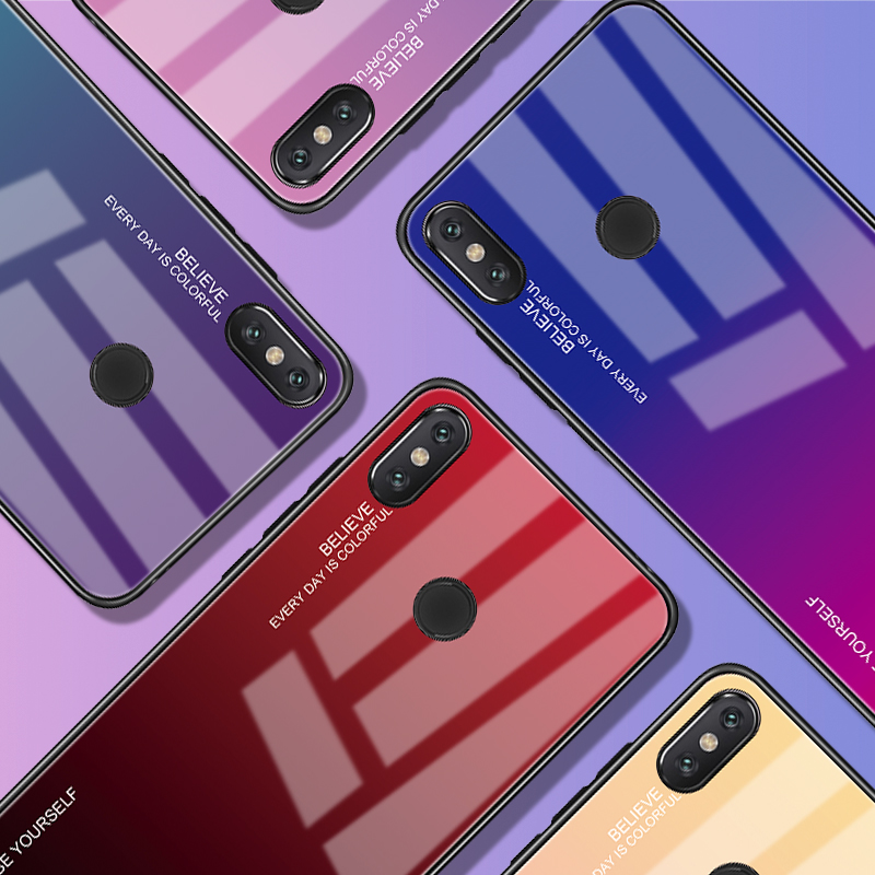 Clothes, Shoes & Accessories Honesty Luxury Bumper Tempered Glass Case For Xiaomi Pocophone F1 Mi 8 8se Mi8 Redmi Note 6 Pro 6a S2 Y2 Cover Soft Silicone Tpu Shell Kids' Clothes, Shoes & Accs.