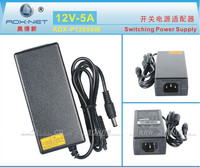 New AC Converter Adapter For DC 12V 5A 60W LED Power Supply Charger For 5050 3528